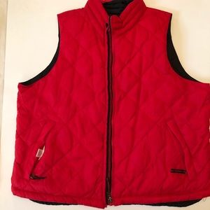 Coldwater Creek reversible puffy vest